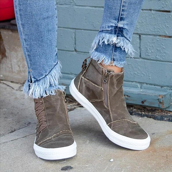 Mokoshoes Outdoor Fall/Winter Outfit Sneakers Boots