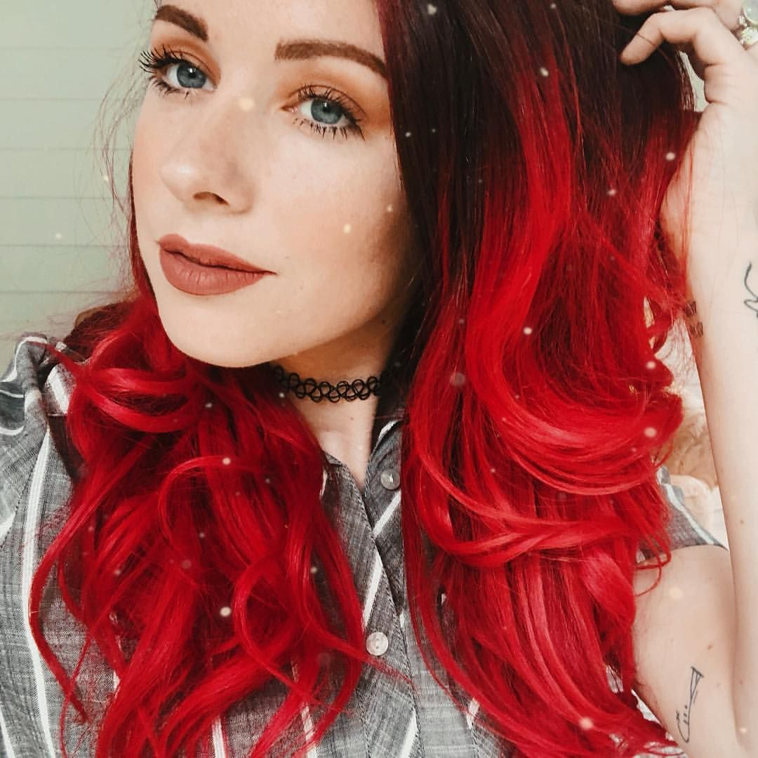 Lace Frontal Wigs Red Hair Long Red Wig With Bangs Light Blue Lace Wig Medium To Short Hairstyles Black Bob Hairstyles 2018 Free Shipping