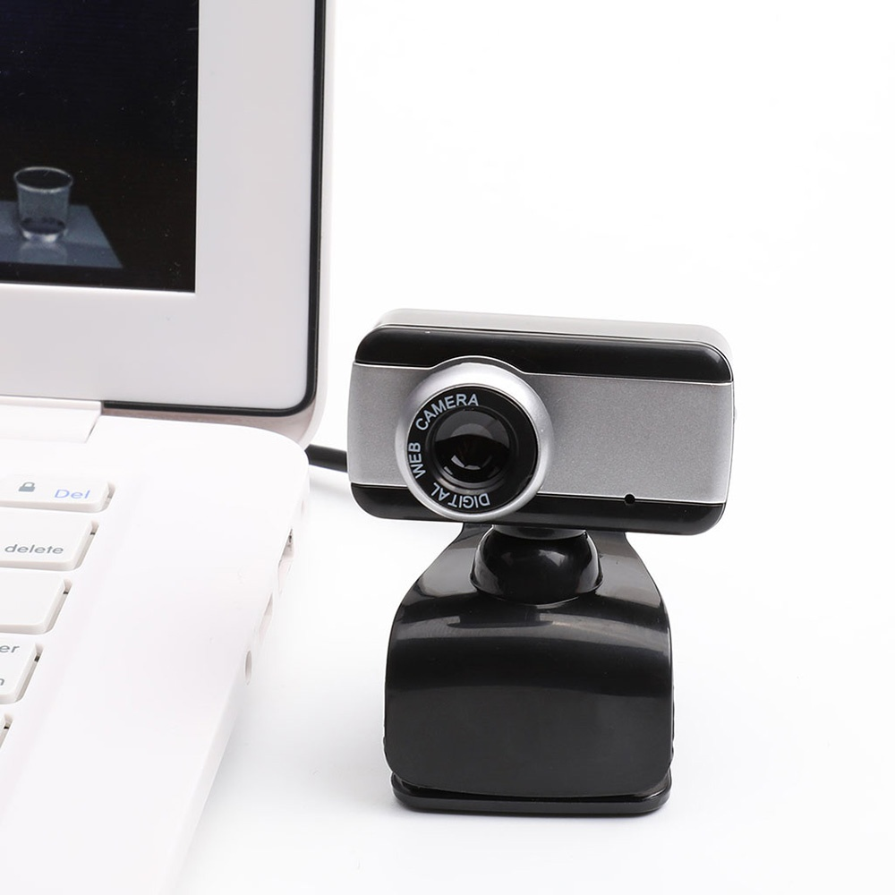 USB 2.0 Computer Camera Webcam 480P For Home with Microphone Mini