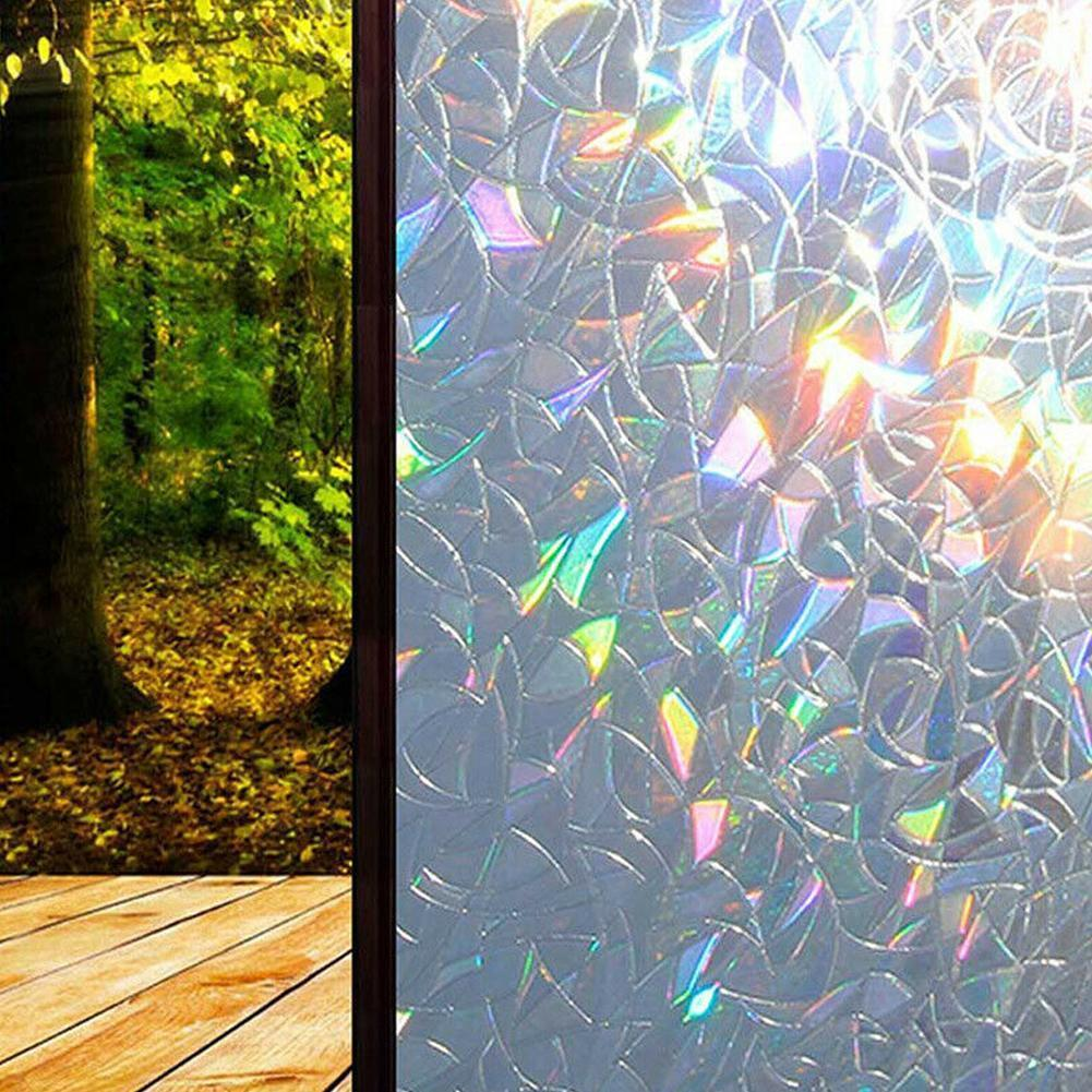 Non-static Electrostatic Glass Film Transparent Opaque Office Bathroom Toilet Window Window Frosted Window Stickers