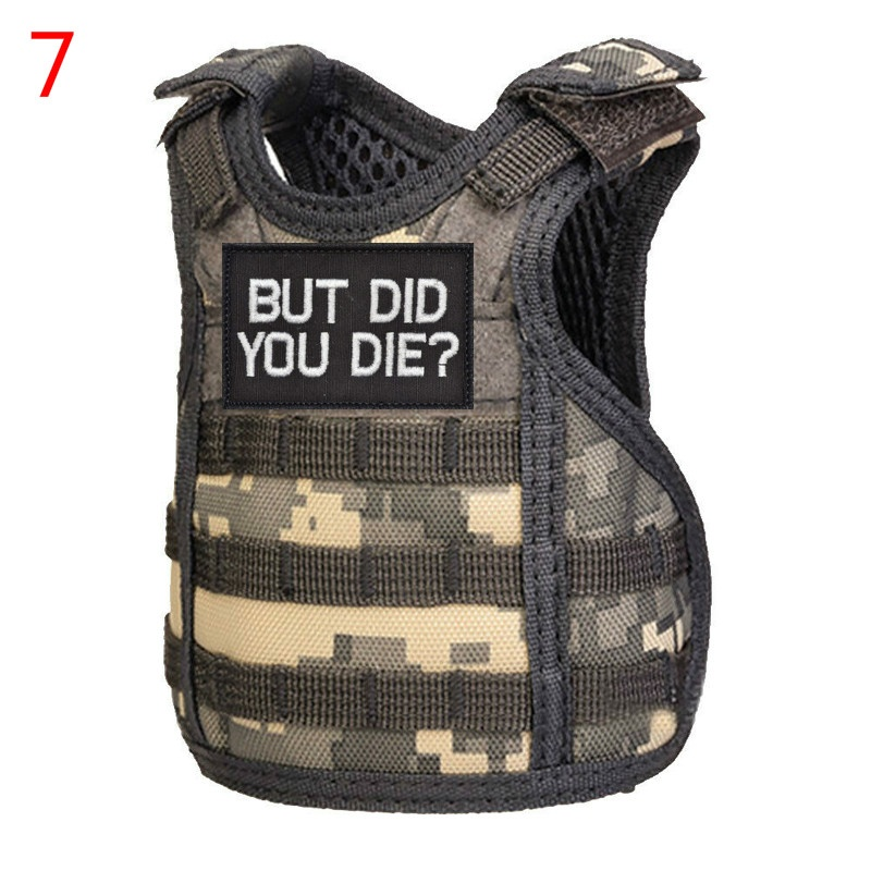 Wine & Liquor Accessories wine bottle bag Mini vest water bottle Pouches mini vest beer bottle set personalized bottle can drink set KTV bar decoration Insulation anti-icing tool Outdoor Military Tactical Mini Adjustable Soda Beer Bottle Water Bottle Hol