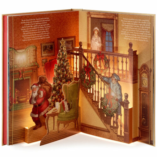 The Night Before Christmas Pop-Up Book With Light and Sound