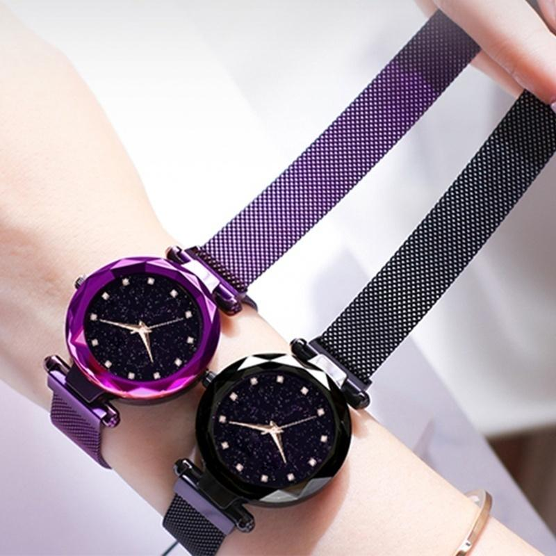 70% OFF & BUY 3 FREE SHIPPING - Six Colors Starry Sky Watch Perfect Gift Idea!