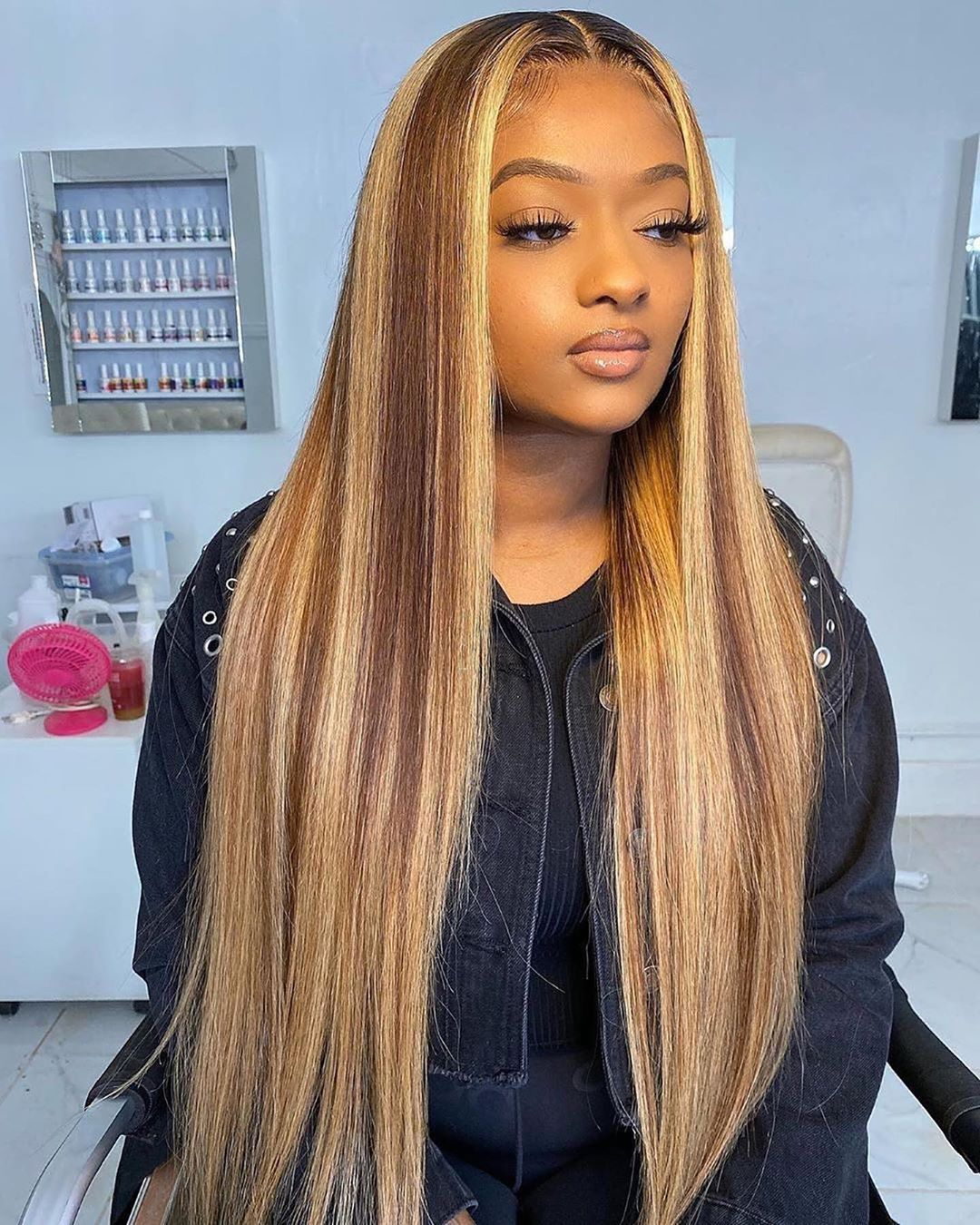 Lace Front Wigs Brown Wigs Blonde Wigs Long Straight Blonde Wig With Bangs Keira Knightley Blonde Wigs For Black Women