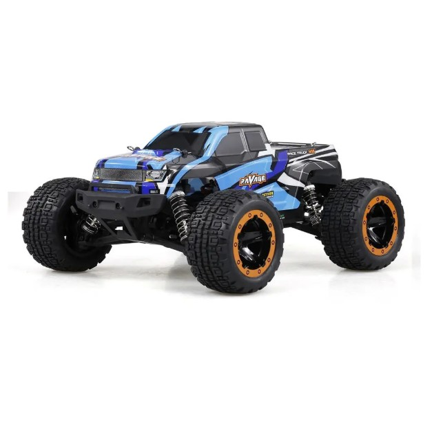 HBX 16889A Brushed 1/16 2.4G 4WD 30km/h RC Car with LED Light Electric Off-Road Truck RTR Model