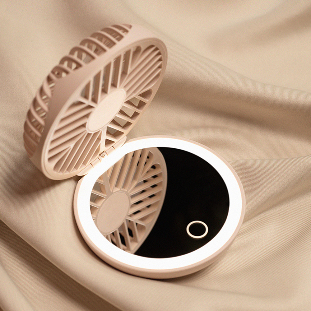 Nicsho™ LED Makeup Mirror with Fan