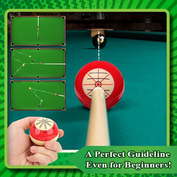 (🎱TO BE YOUR NUM ONE🎱)Billiards training cue ball
