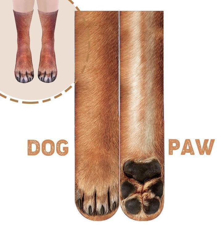 3D Animal Paw Socks-[ONE SIZE FITS ALL]