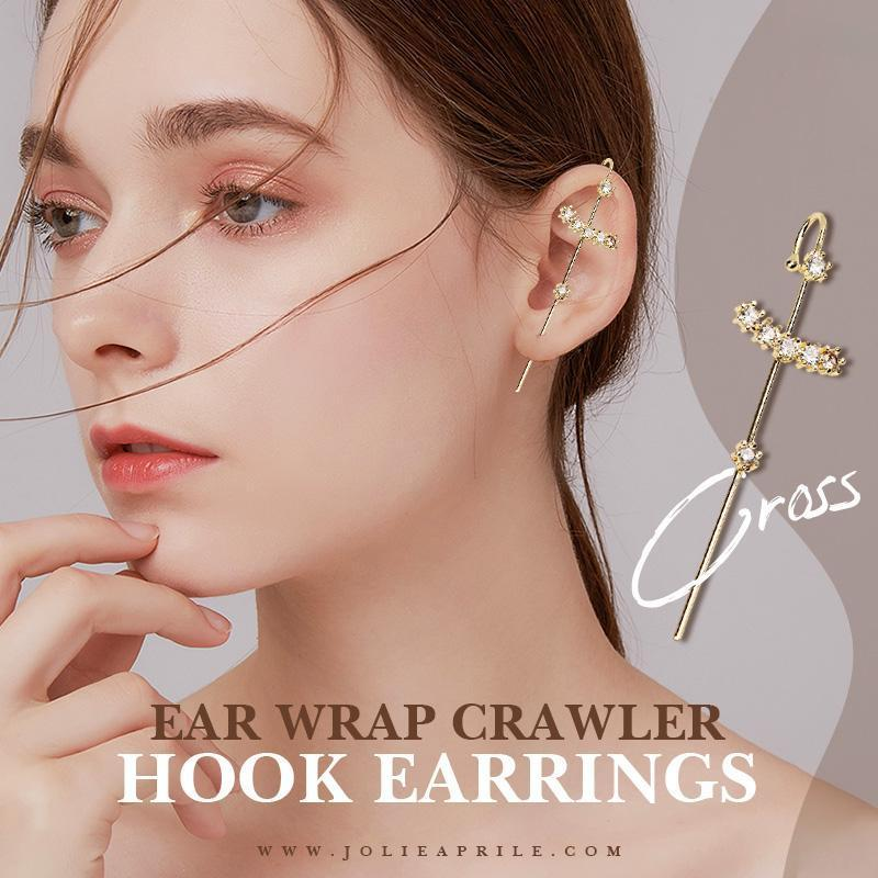 ✨Year-end Promotion✨ Ear Wrap Crawler Hook Earrings(New Arrival)