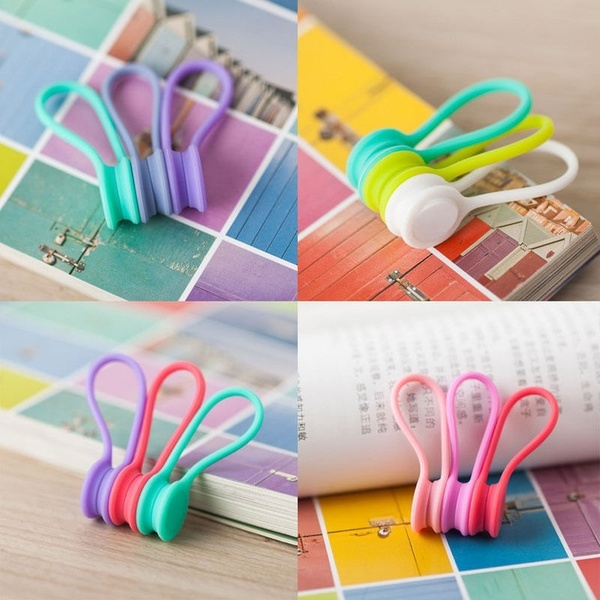Multifunction Magnetic Earphone Cord Winder Cable Holder