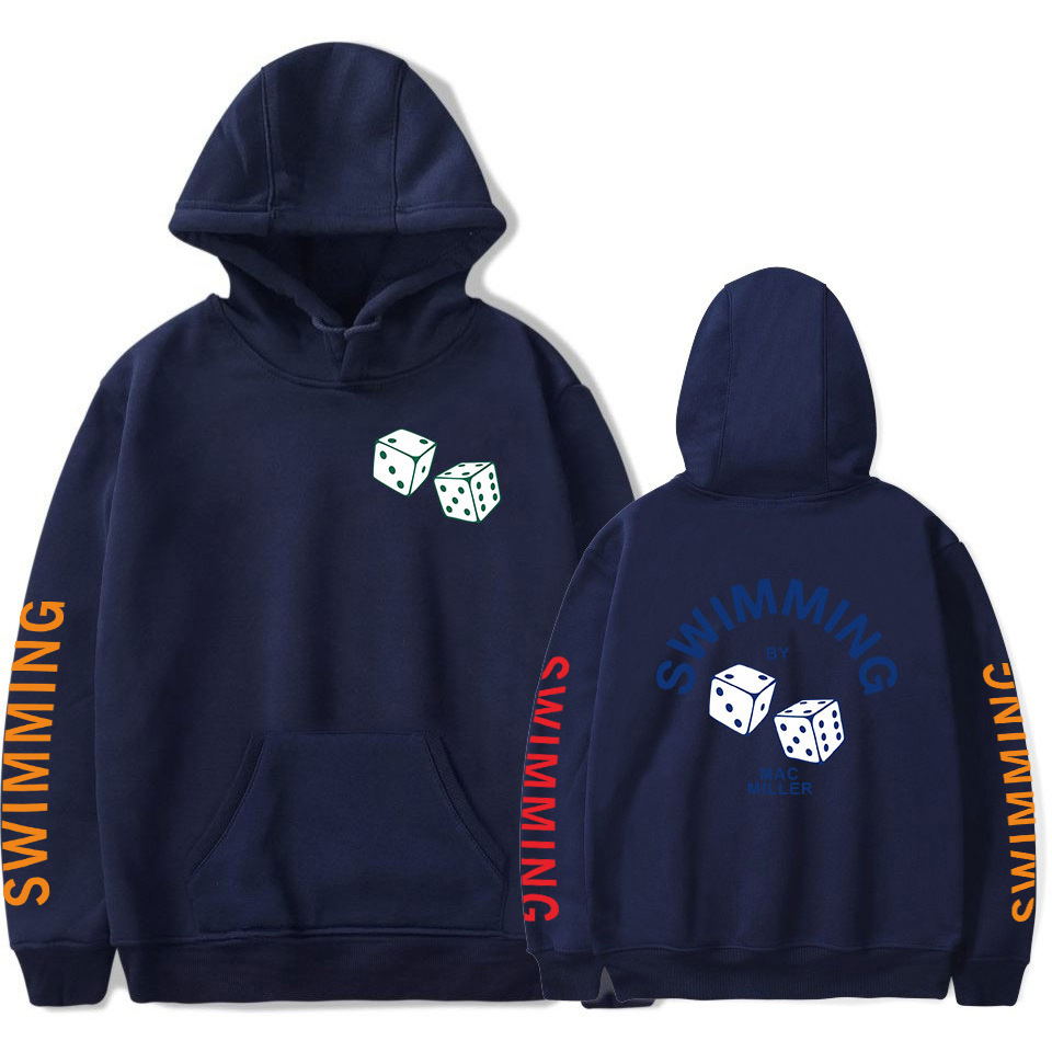 Swimming By Mac Miller Yin & Yang Hoodie