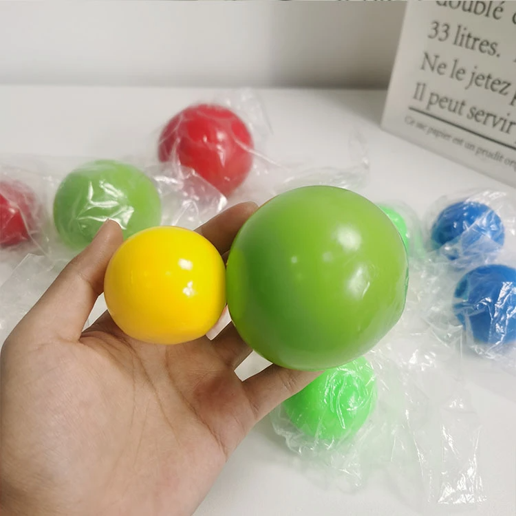 CHAINCHAPTER - Fluorescent Sticky Target Anti Stress Reliever Balls