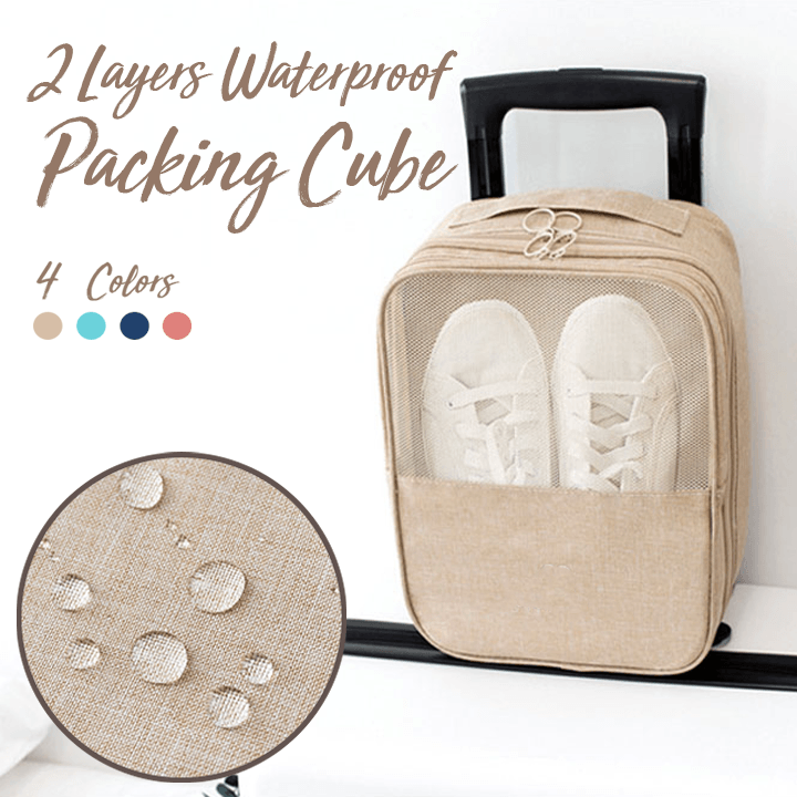 2 Layers Waterproof Packing Cube