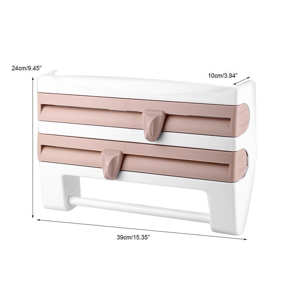 ✨NEW YEAR SALE 50%OFF-TODAY✨Multifunction Film Storage Rack(Nail free)