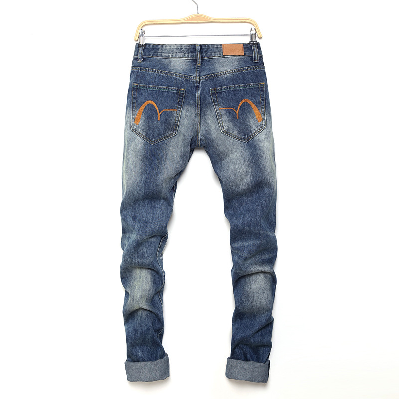 Cotton,Polyester Letter with Jeans(Plus Size)