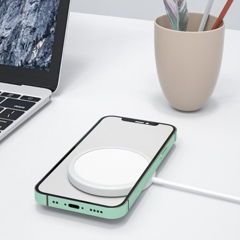 BEST FOR iPhone 12 - Powerful Magnetic Wireless Charger