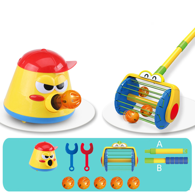 [💥Clearance Sale-49%Off Last Day]-Electric Push Walker & Whirl Scoop A Ball Launcher Walker Set