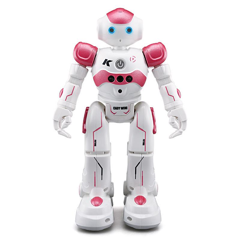 (Made in France)Intelligent Infrared Remote Control Robot