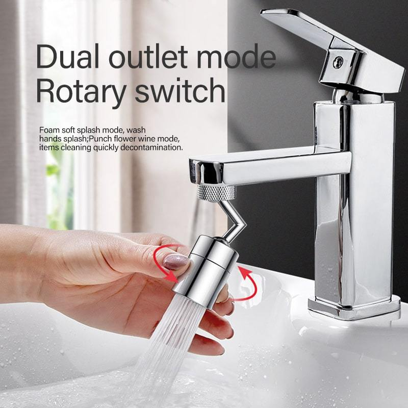 Universal Rotation Water Outlet