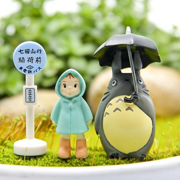 Hand DIY Classic Scenes Xiaomelong Cat Pots Gardening Landscape Doll