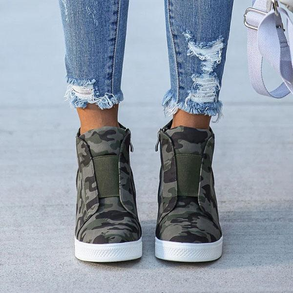 Bonnieshoes Extra Mile Wedge Sneakers