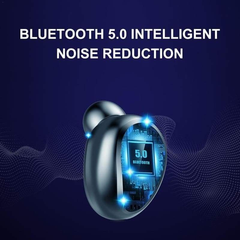 Newest Mini Earbuds 8D HiFi CVC8.0 Noise Cancelling Bluetooth 5.0 Earphones TWS Sport Waterproof Headphones Deep Bass Sound Cordless Bank Dual Headsets