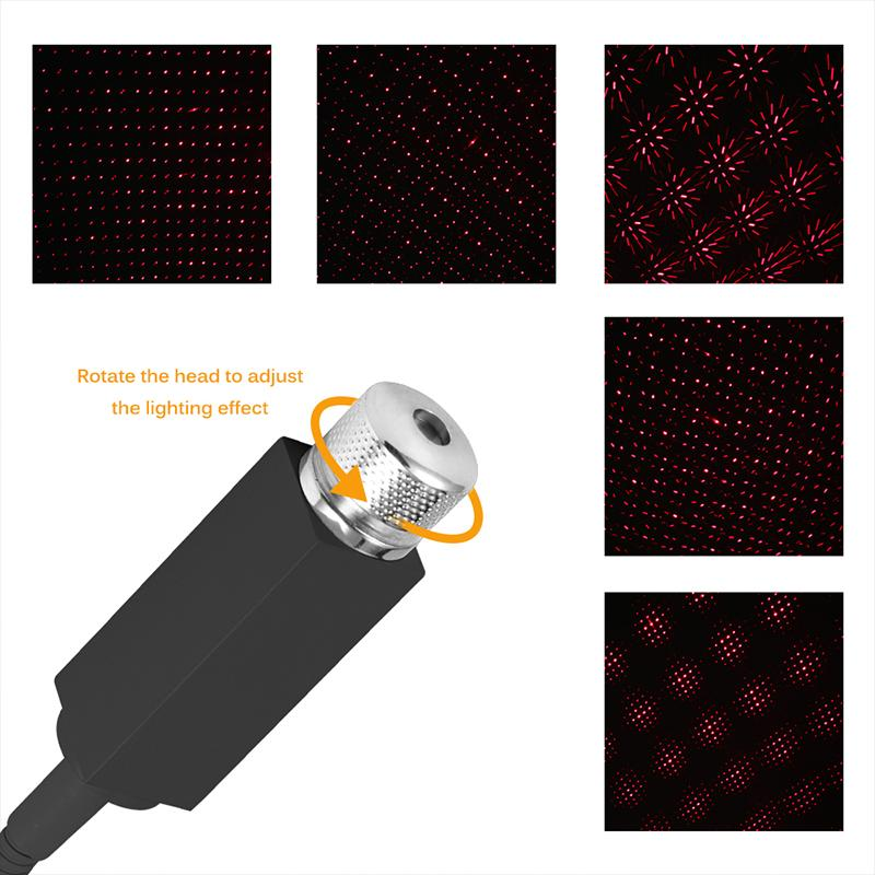 Car Roof Lights Romantic USB Night Light