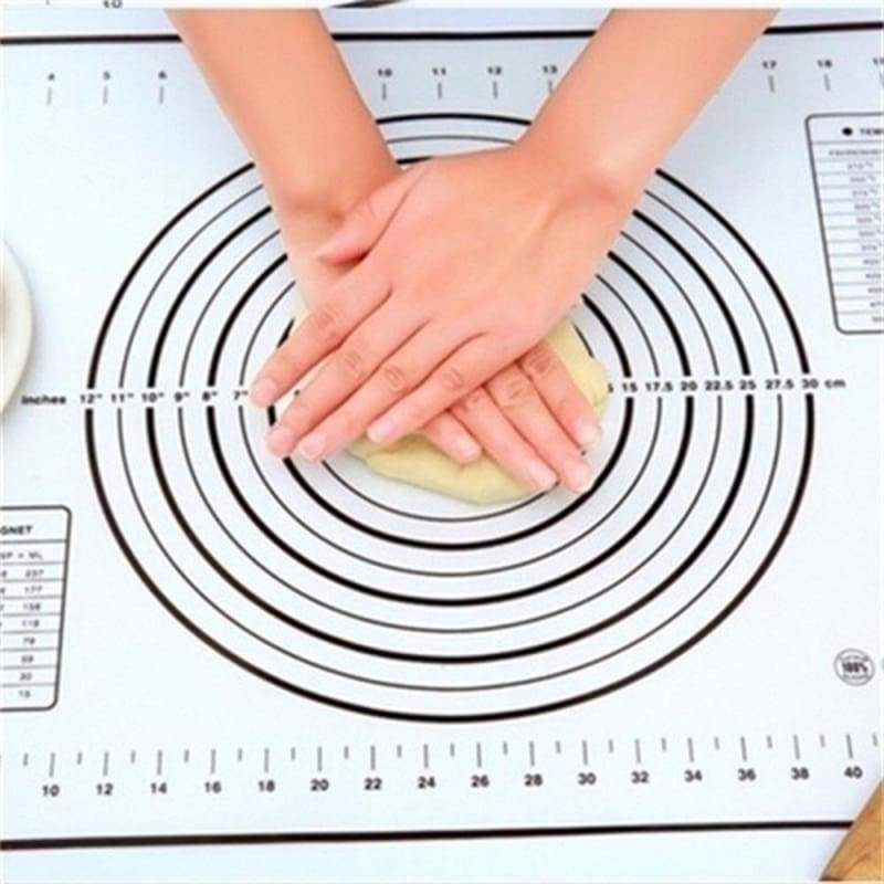 Kitchen Non-Sticky Silicone Baking Mats Liners Cake Kneading/Rolling/Cutting Dough Fondant Mat Pastry Sheet Accessories