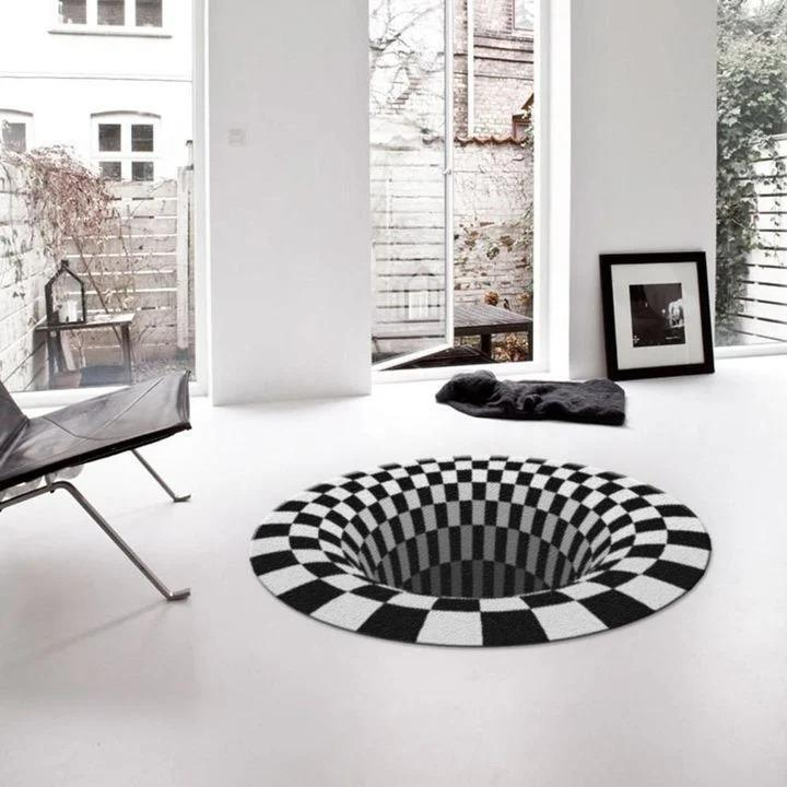50% OFF-New Vortex Illusion Rug-Black Friday BIG SALE! !