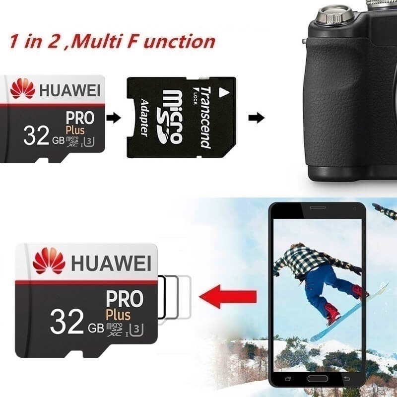 2020 new explosion model Huawei high-speed 256GB 128GB 64GB USB drive Micro SD Micro SDHC Micro SD SDHC card 10 UHS-1 TF memory card + card reader
