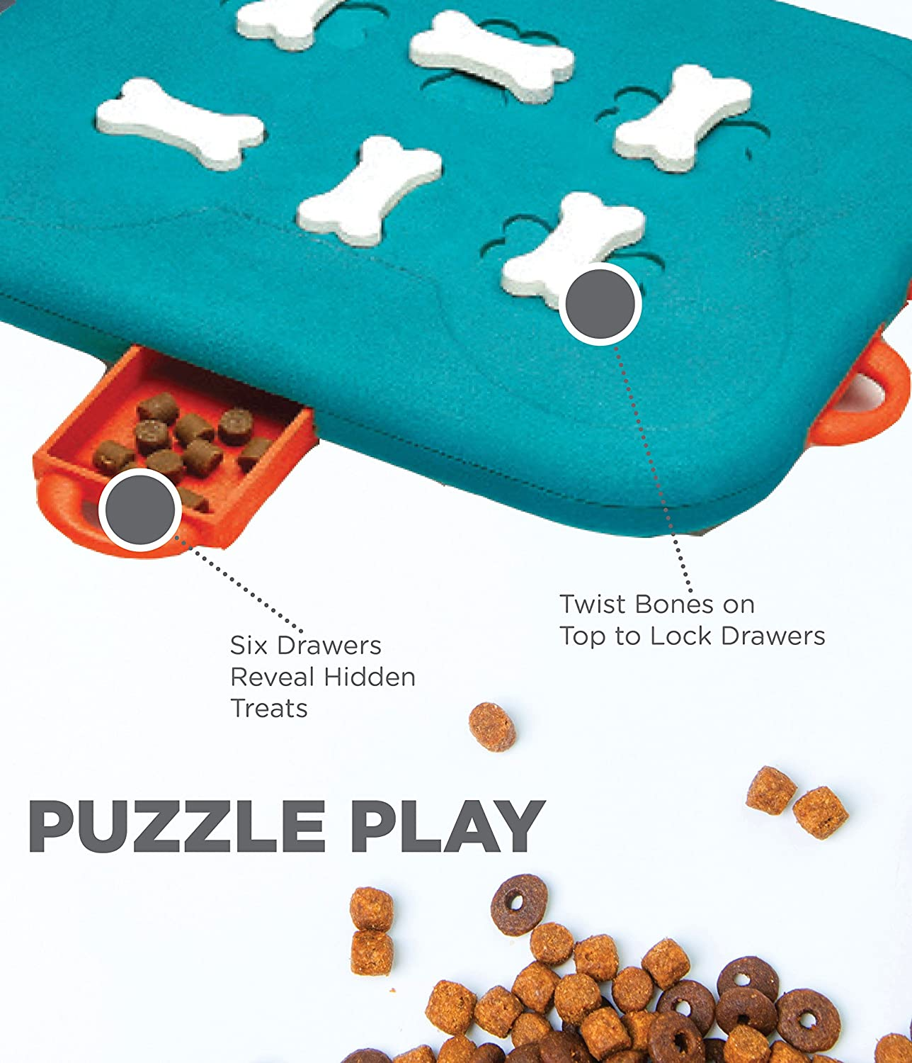 Interactive Puzzle Game Toy for Dogs- 50% OFF & Free Shipping