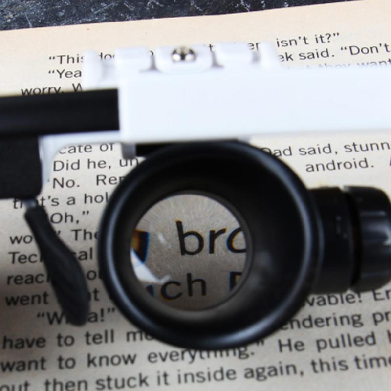 🎅New Year limited time offer🎄LED Glasses Magnifier 8x 15x 23x