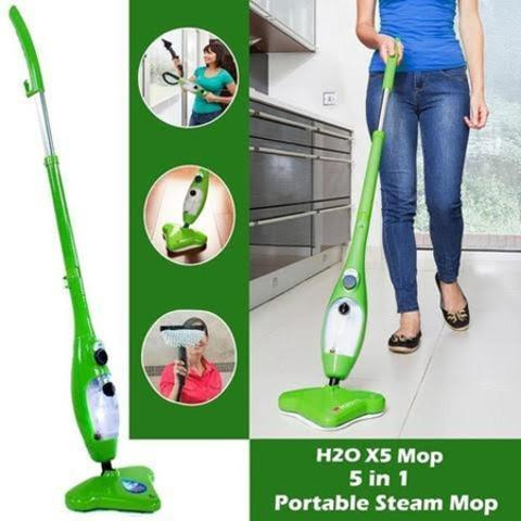 5 IN 1 STEAM CLEANING KIT - Multi-Purpose Steam Helps Clean Your Whole House!