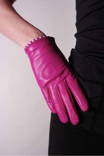 Coquettish Leather Gloves