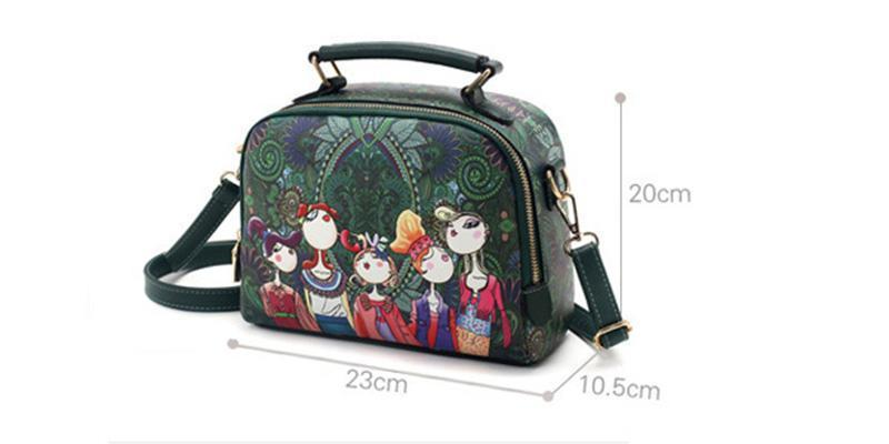 Spring/summer women shoulder bag fashion printed