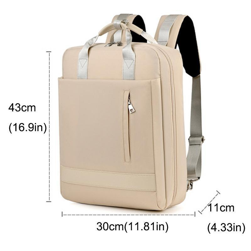 Laptop Backpack with USB Charging Port Lock, Business Travel Water Resistant Backpacks Computer Bag  Fits 15.6