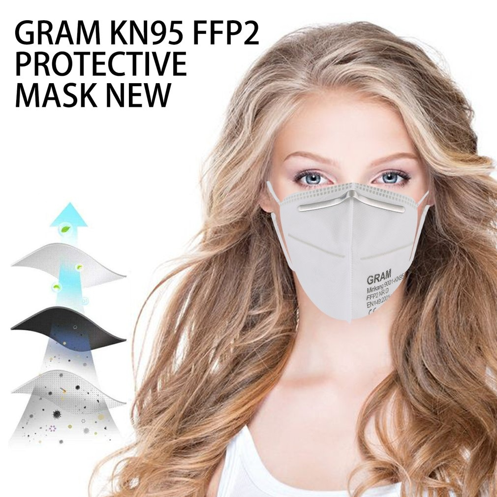 FFP1/KN95/FFP2/FFP3 Head-Mounted Protective Mask  With Breathing Valve Mask Industrial Dust Mask