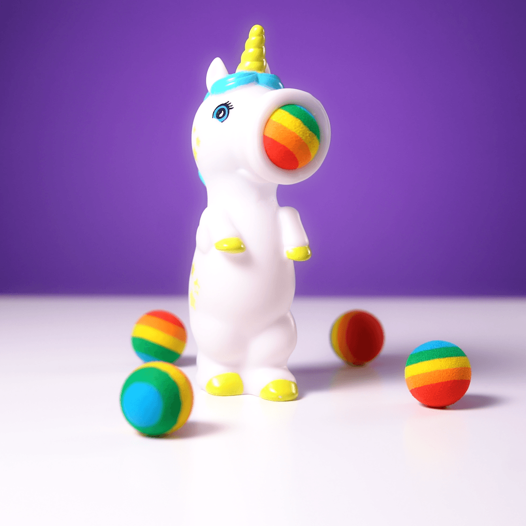(Factory Outlet 20,00 items )[70% OFF]Unicorn-Shaped Foam Ball Shooter