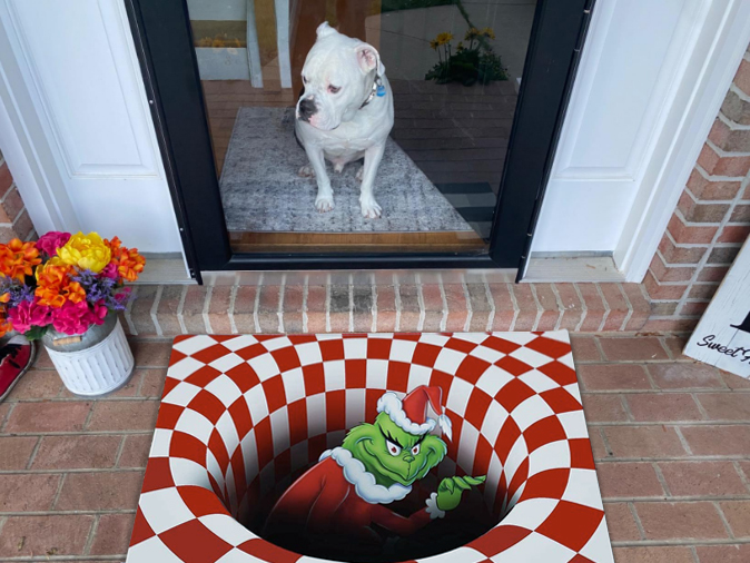 【Last Day Promotion】 3D Illusion Doormat(Buy two free shipping)