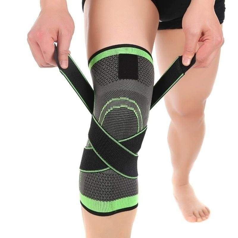 1pcs Knee Support Brace Strap Compression Sleeve Sports Protector Adjustable