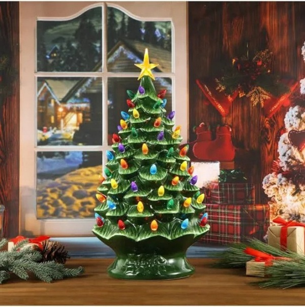 🌟Christmas Hot Sales🌟Mr. Christmas Nostalgic Cake Tree