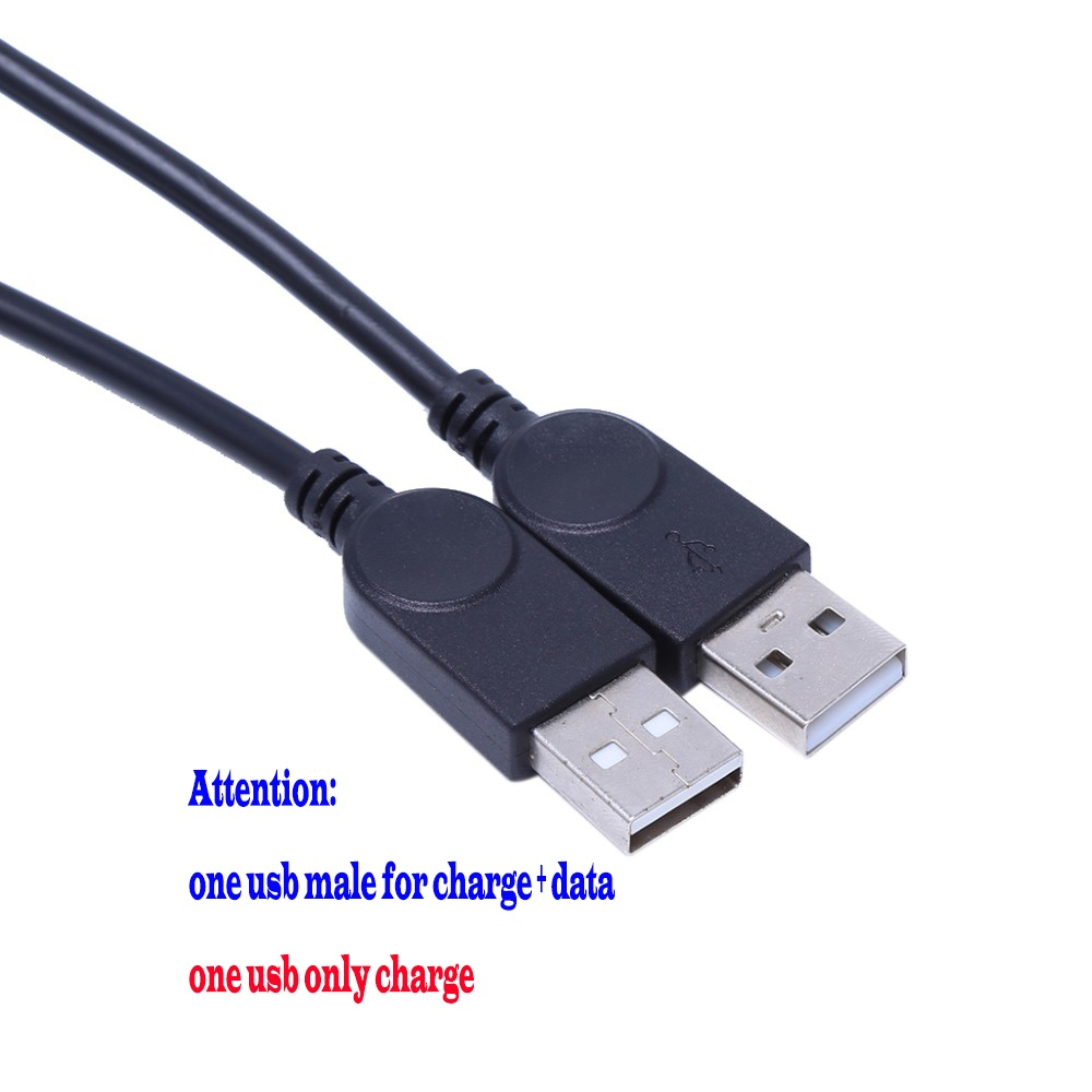 1PC USB 3.0 USB 2.0 Type A 1 Female To 2 Male or Male to 2 Female Double Dual USB Y-Splitter Data Sync Charging Extension Cable Charge