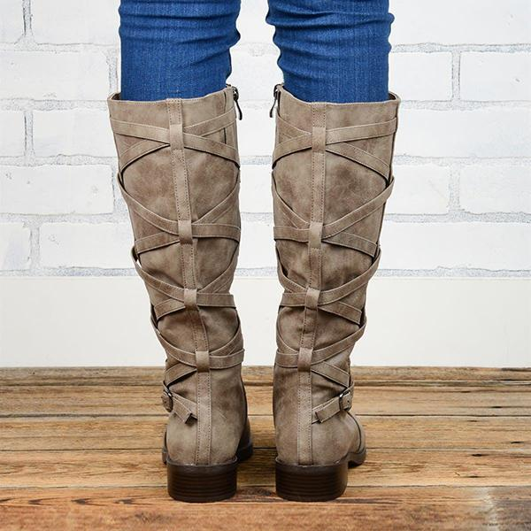 Bonnieshoes Retro Casual All-Match Comfortable Boots