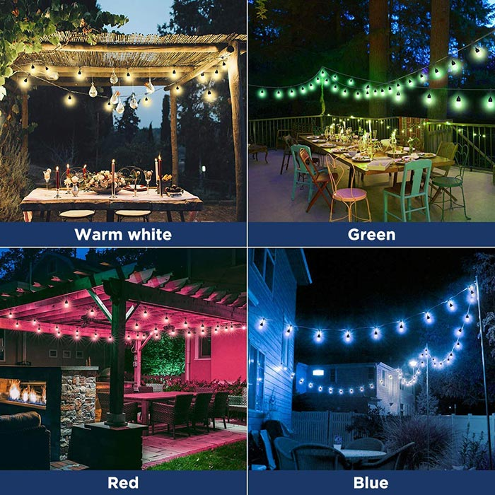 Solar Powered LED Outdoor String Lights - BUY 2 FREE SHIPPING