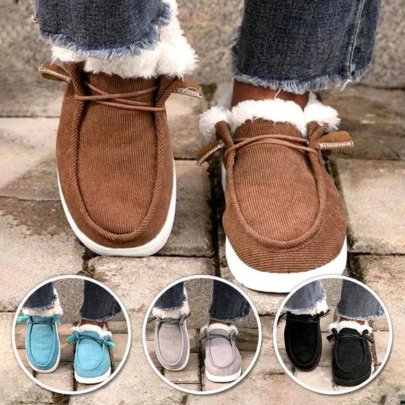 Comfy Flat Heel Slip-On Boots,(BUY TWO SAVE 15% OFF)