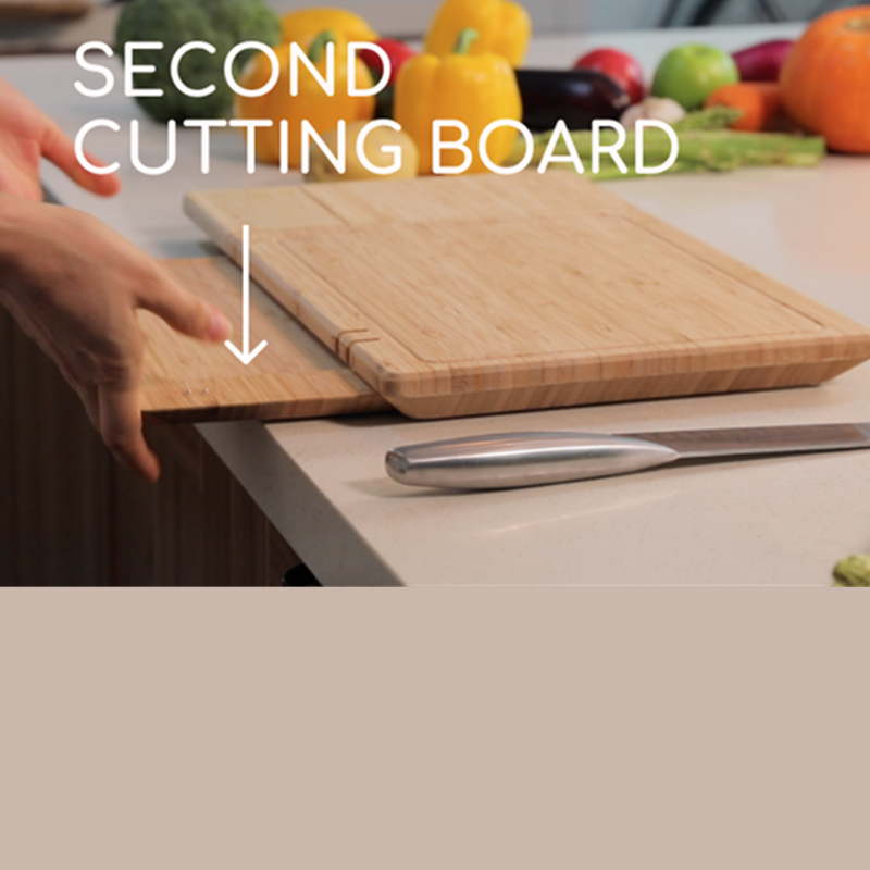 Smart Cutting Board With 10 Features