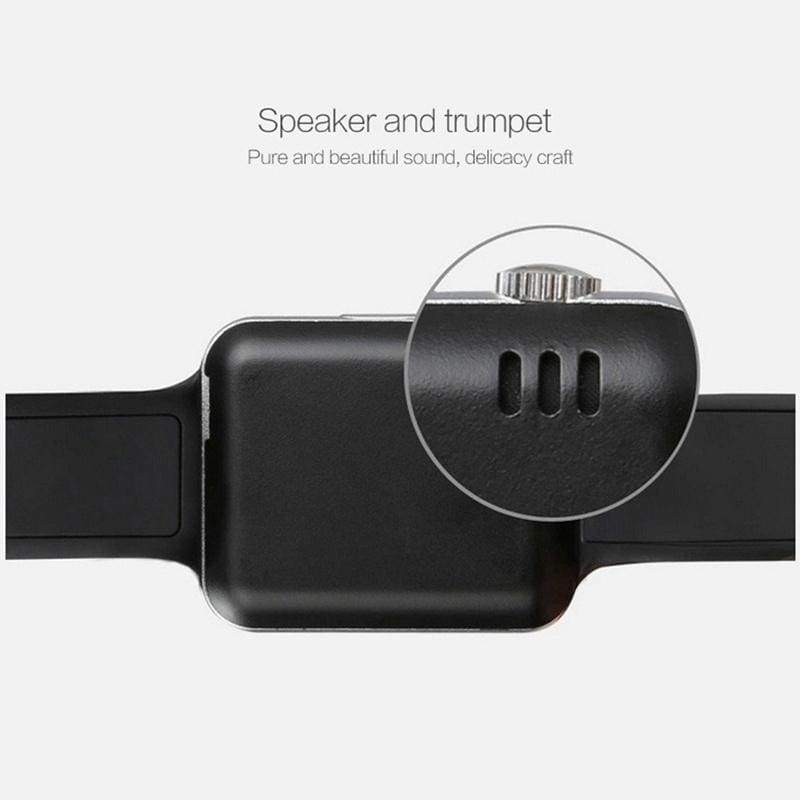 NEW Waterproof Smart Watch Bluetooth GSM Sim Phone Pedometer Sedentary Remind Sleep Monitor Remote Camera For Android/iOS PK GT08 DZ09 KY001 i5 T70 D19 Apple Watch