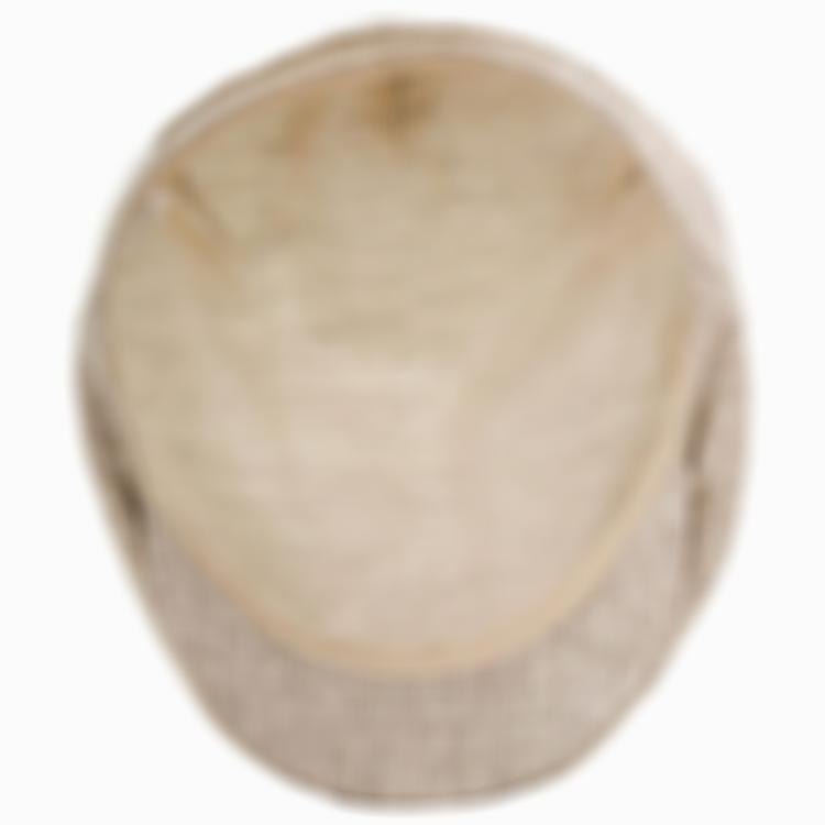 100% Linen Ivy League Flat Cap