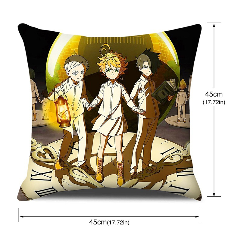 6 Styles Anime The Promised Neverland Printed 3d Pillow Case
