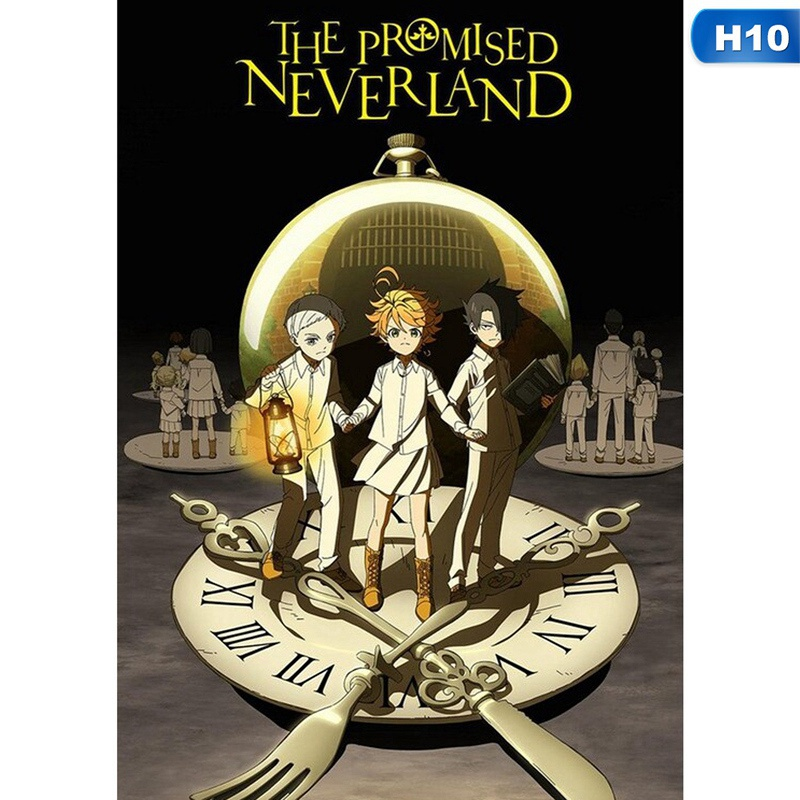 12 Styles The Promised Neverland Anime Poster Wall Picture Home Decor Gifts For Anime Lovers 42*29.7Cm